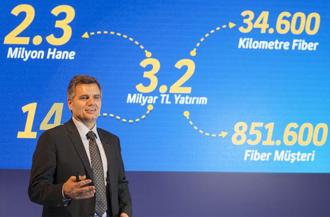 Eskişehir, Turkcell ile fiber internete kavuştu