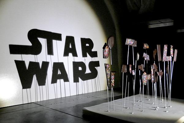 İlginç materyallerle Star Wars sanatı