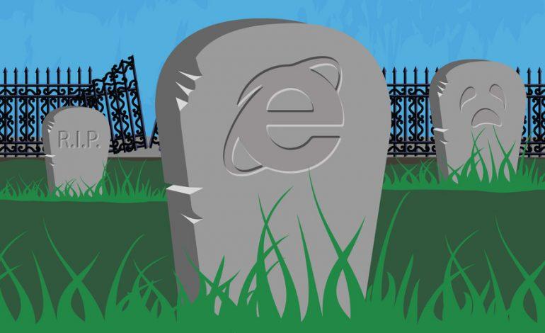 Internet Explorer 8, 9 ve 10 sürümlerinin fişi çekiliyor