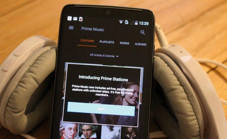 Amazon Prime Müzik İngiltere'de yayında