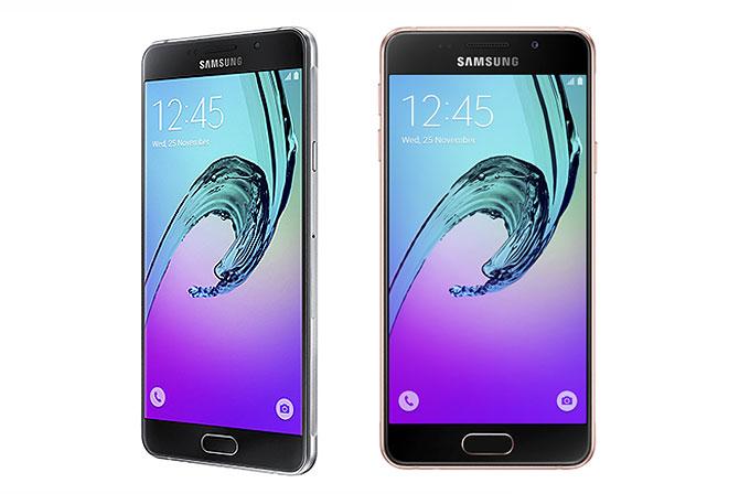 Samsung Galaxy A (2016) serisi kutusundan çıkıyor