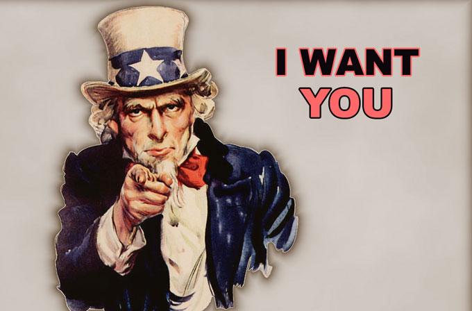 Bizimle çalışmak ister misiniz?
