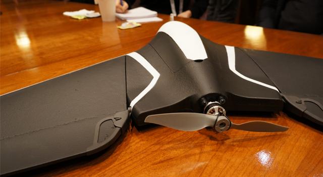 Parrot Disco ismindeki drone modelini tanıttı