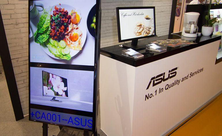ASUS ISE 2016'da Digital Signage Ürünlerini ve Yeniliklerini Tanıttı