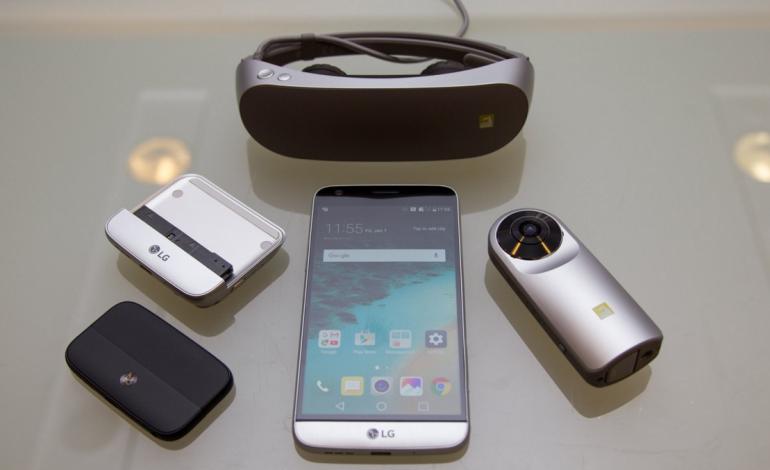 LG G5 ve Arkadaşları