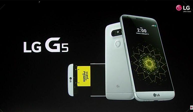 LG G5 tanıtıldı! Gerçekten çalışan ilk modüler telefon!
