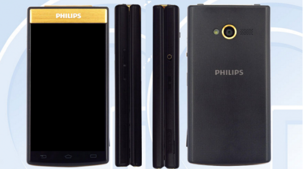 Kapaklı telefonların son temsilcisi Philips V800