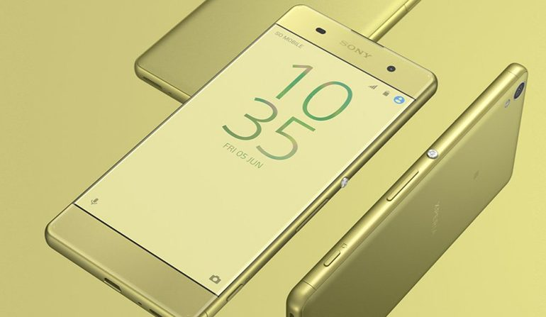 Sony'nin yeni orta segmenti; Sony Xperia XA