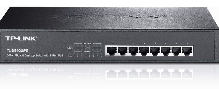 TP-LINK'ten kolay kullanımlı PoE switch ailesi