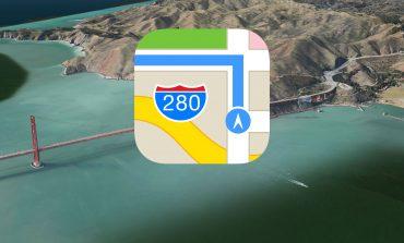 Apple Maps artık çok daha büyük