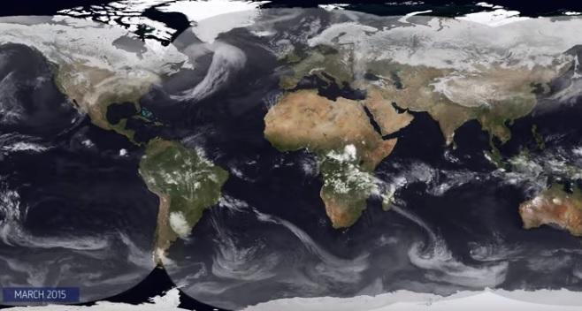 NASA'dan 2015 hava durumu