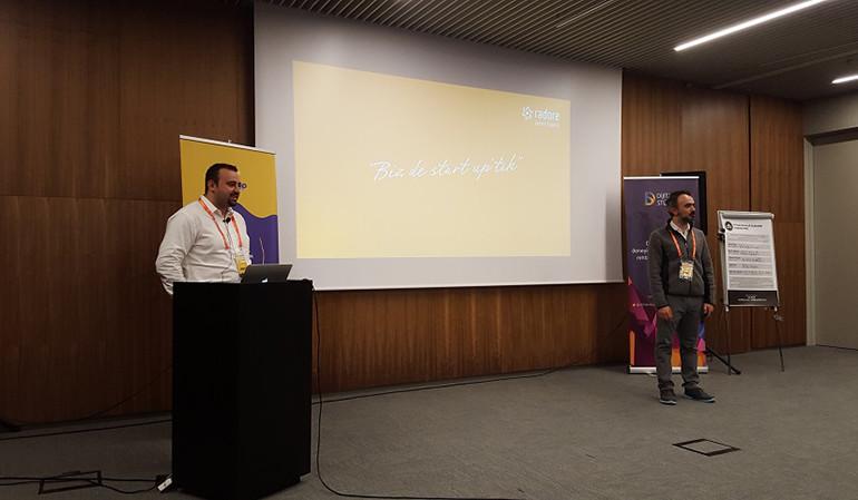 Radore ciz.io meetup etkinliğinde girişimcilerle bir araya geldi