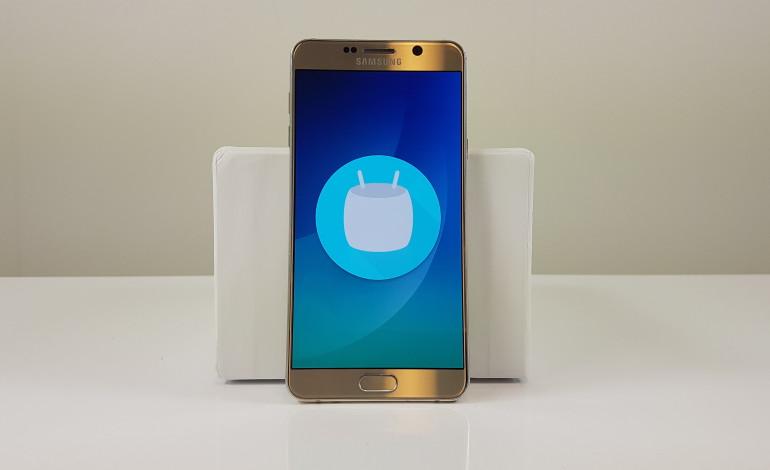 Samsung Galaxy Note 5 için Marshmallow güncellemesi  Türkiye'de yayınlandı