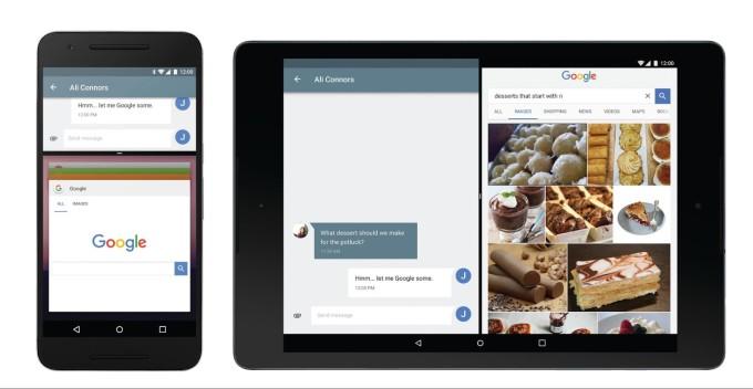 Android N - Çoklu Pencere Desteği