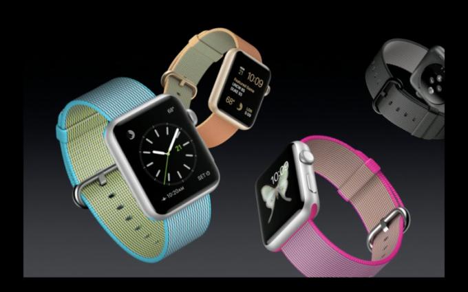 Apple Watch Naylon Örme Kayış