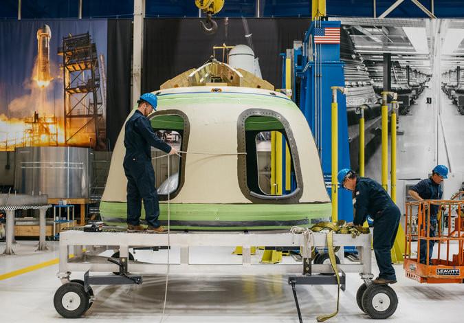 Blue Origin 2018 yılına uzaya ilk turistini göndermek niyetinde