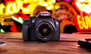 Canon yeni giriş seviyesi DSLR modelini tanıttı: EOS 1300D
