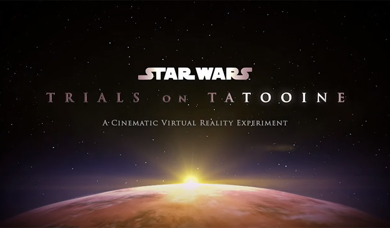 HTC Vive'ın ilk Star Wars oyunu Trials on Tatooine'den video