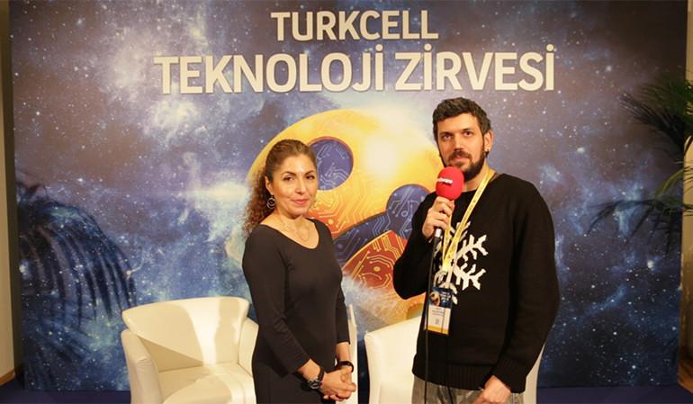 Turkcell Teknoloji Zirvesi ANOUSHEH ANSARİ röportajı