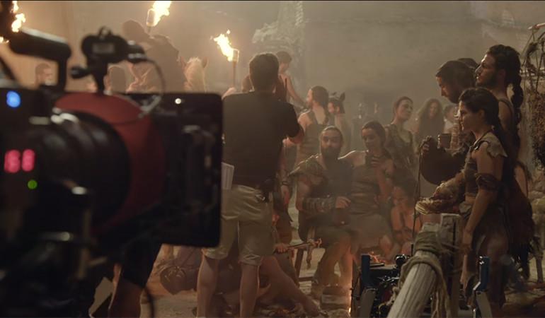 Game of Thrones'un 6. sezonundan kamera arkası görüntüler