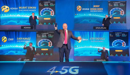 Turkcell-4.5G testi