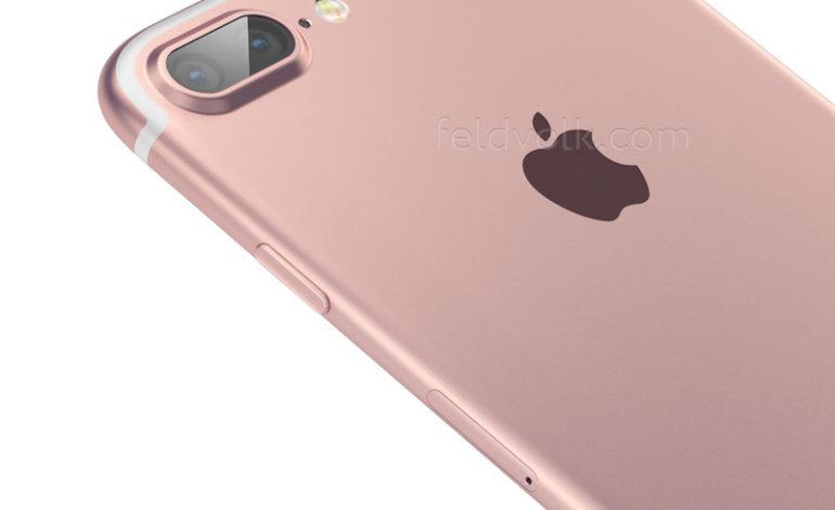 iPhone 7 Plus'ın Rose Gold Versiyonu Sızdırıldı