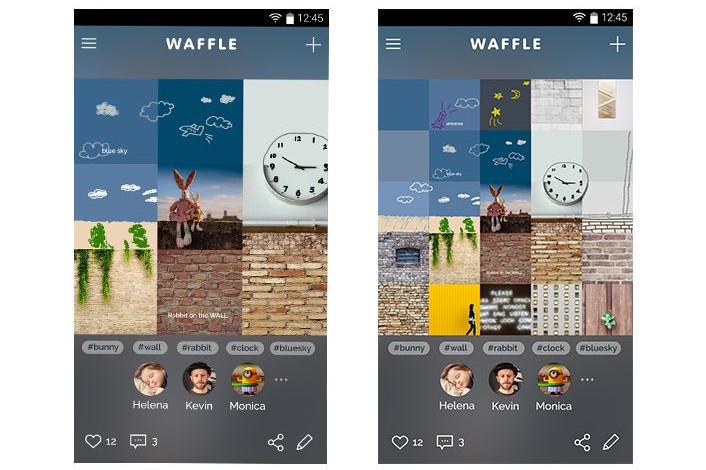 Samsung'dan yeni sosyal medya; Waffle