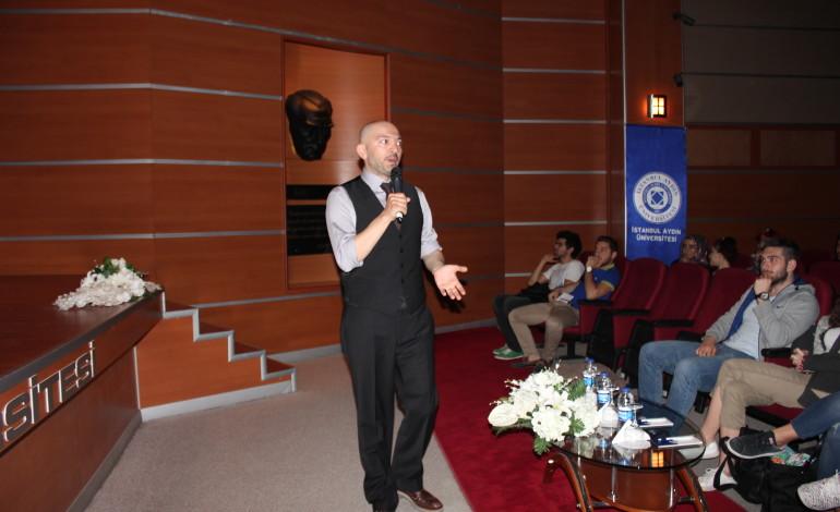 Ceyhun Yılmaz, İstanbul Aydın Üniversitesi'nde