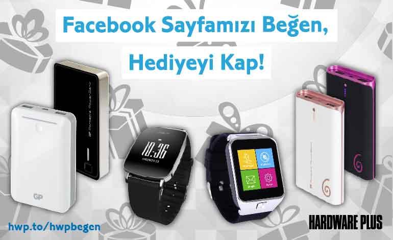 Facebook Sayfamızı Beğen, Hediyeyi Kap!