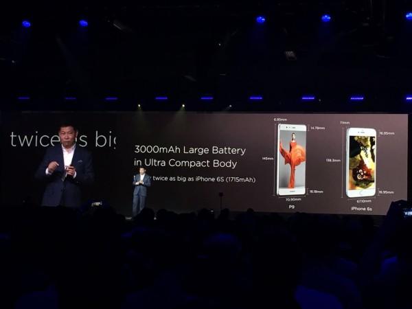 Huawei P9 Pil