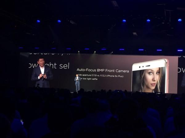 Huawei P9 Plus Ön Kamera