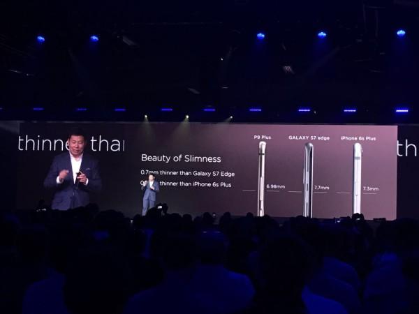 Huawei P9 Plus Kalınlık