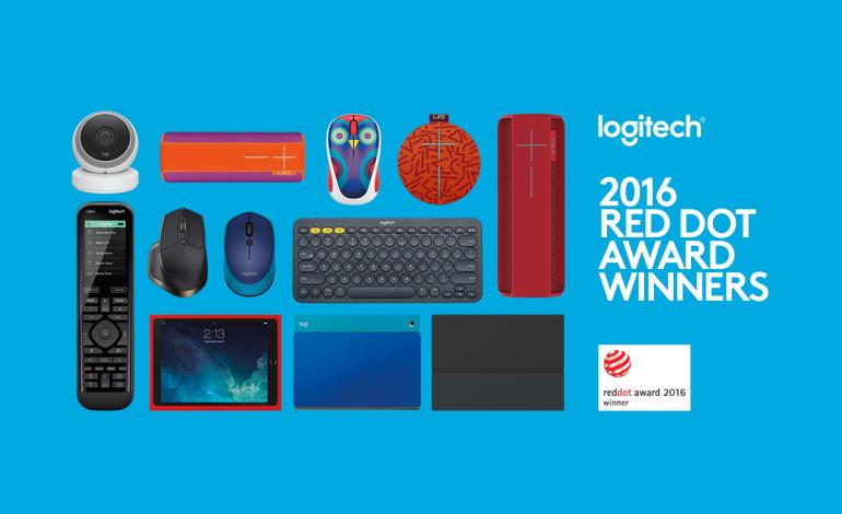 Logitech, 2016 Red Dot Awards'tan 9 ödülle döndü