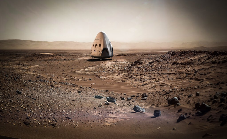 SpaceX'in Mars Planı Gün Yüzüne Çıktı!