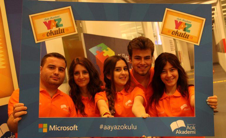 Microsoft'un Yaz Okulu Başlıyor