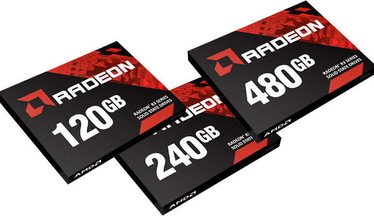 AMD'den Yeni Radeon R3 SSD'ler!