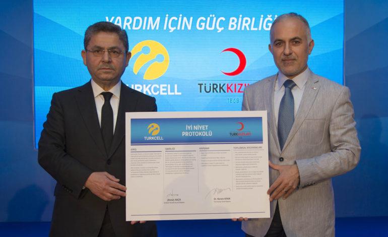 Turkcell'den Türk Kızılayı'na Büyük Bağış