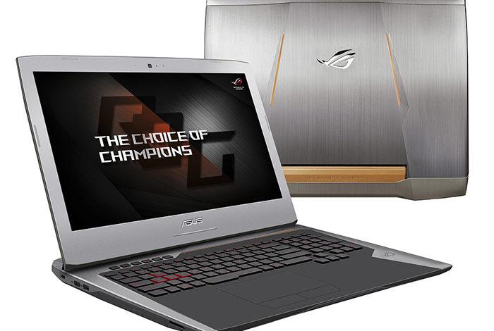 Asus'dan Yeni ROG Serisi Dizüstü Bilgisayarı