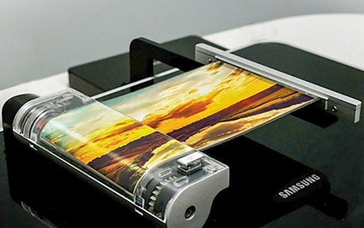 Samsung'un En Son Teknoloji Kıvrılabilen Ekranı