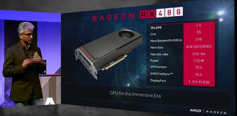 AMD Radeon RX 480M ile İlgili Detaylar Ortaya Çıktı
