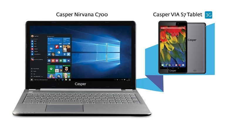 Karne Hediyesi İçin Casper'dan İki Seçenek: Via S7 ve Nirvana C700