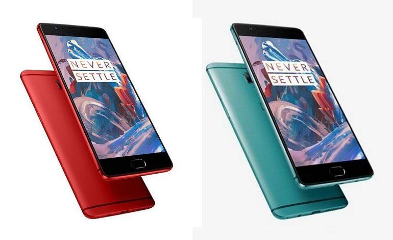OnePlus 3'ün Yeni Renk Seçenekleri Ortaya Çıktı