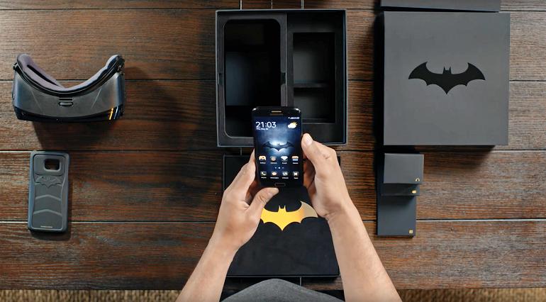 Batman Hayranlarına Özel Samsung Galaxy S7 Edge Injustice Sürümü