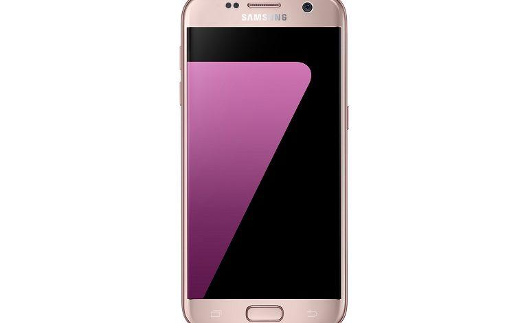 Pembe Altın Renkli Samsung Galaxy S7 edge Türkiye'de