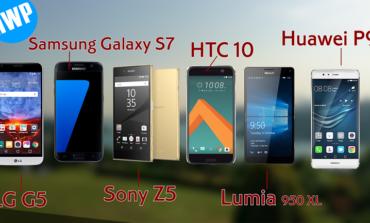 LG G5, HTC 10, Huawei P9, Galaxy S7, Xperia Z5 ve Lumia 950 XL Video Performans Karşılaştırması