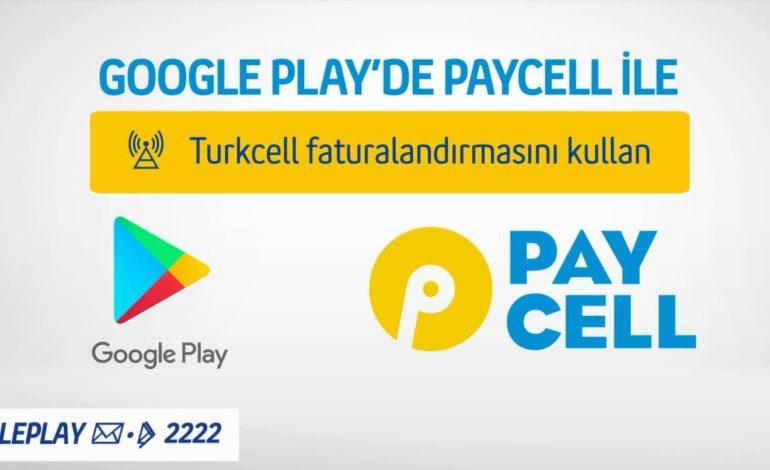 Paycell ile Google Play 'de Alışveriş Yapana Hediye