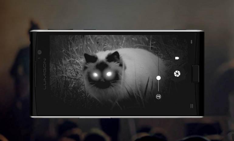 Dünyanın İlk Gece Görüşü Kameralı Telefonu: Lumigon T3
