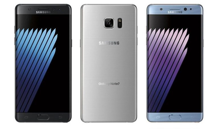 Samsung Galaxy Note 7 Göründü