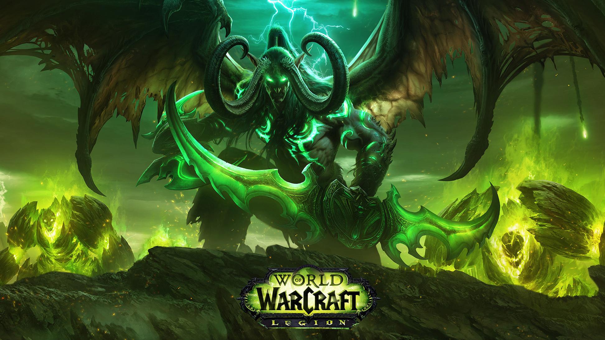 world of warcraft legion indir download