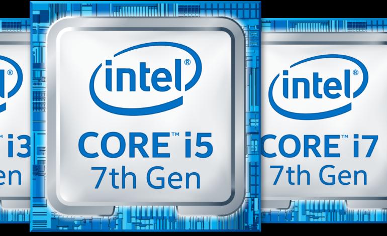 Intel 7. Nesil Intel Core İşlemci Ailesi Geliyor!